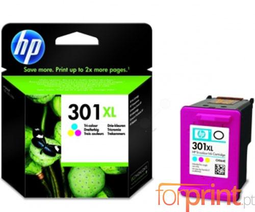 Tinteiro Original HP 301 XL Cor 6ml ~ 330 Paginas