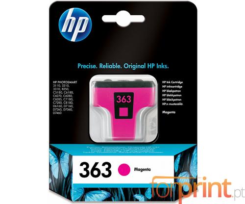 Tinteiro Original HP 363 Magenta 4ml ~ 400 Paginas