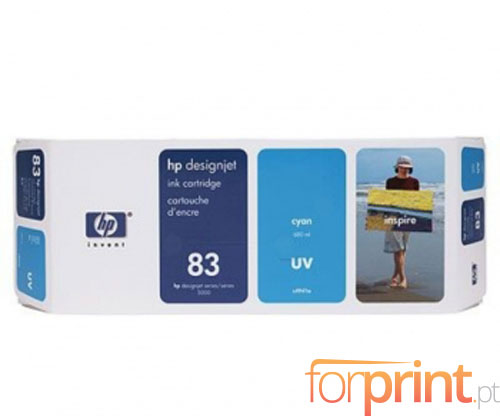 Tinteiro Original HP 83 UV Cyan 680ml