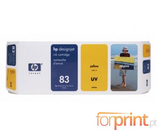 Tinteiro Original HP 83 UV Amarelo 680ml