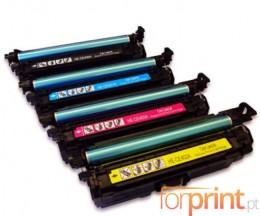 4 Toners Compativeis, HP 507X Preto + 507A Cor ~ 11.000 / 5.500 Paginas