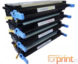 4 Toners Compativeis, HP 501A Preto + 502A Cor ~ 6.000 / 4.500 Paginas