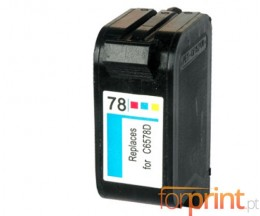 Tinteiro Compatível HP 78 XL Cor 39ml