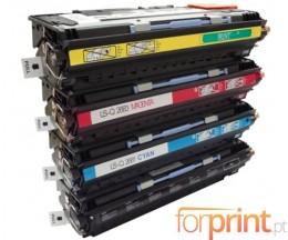 4 Toners Compativeis, HP 308A Preto + HP 311A Cor ~ 6.000 Paginas
