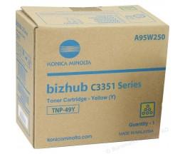 Toner Original Konica Minolta A95W250 Amarelo ~ 12.000 Paginas