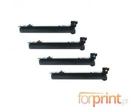4 Toners Compativeis, Konica Minolta A06VX53 Preto + Cor ~ 12.000 Paginas