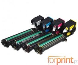 4 Toners Compativeis, Konica Minolta A0WG0XH Preto + Cor ~ 5.000 Paginas