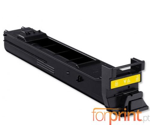 Toner Compativel Konica Minolta A0DK252 Amarelo ~ 8.000 Paginas