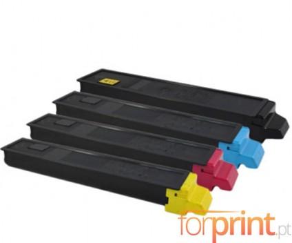 4 Toners Compativeis, Kyocera TK 895 Preto + Cor ~ 12.000 / 6.000 Paginas