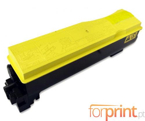 Toner Compativel Kyocera TK 570 Y Amarelo ~ 12.000 Paginas