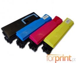 4 Toners Compativeis, Kyocera TK 560 Preto + Cor ~ 12.000 / 10.000 Paginas