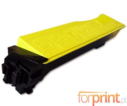Toner Compativel Kyocera TK 550 Y Amarelo ~ 6.000 Paginas