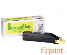 Toner Original Kyocera TK 855 Y Amarelo ~ 18.000 Paginas