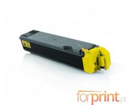 Toner Compativel Kyocera TK 5140 Y Amarelo ~ 5.000 Paginas