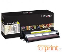 Revelador Original Lexmark C540X34G Amarelo ~ 30.000 Paginas