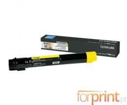 Toner Original Lexmark X950X2YG Amarelo ~ 24.000 Paginas