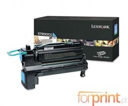 Toner Original Lexmark X792X2CG Cyan ~ 20.000 Paginas