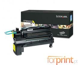 Toner Original Lexmark X792X2YG Amarelo ~ 20.000 Paginas