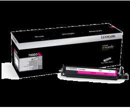 Revelador Original Lexmark 700D3 Magenta ~ 40.000 Paginas