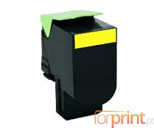 Toner Compativel Lexmark C544X1YG Amarelo ~ 4.000 Paginas