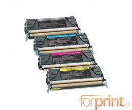 4 Toners Compativeis, Lexmark C746 Preto + Cor ~ 12.000 / 7.000 Paginas