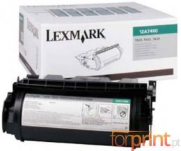 Toner Original Lexmark 12A7460 Preto ~ 5.000 Paginas