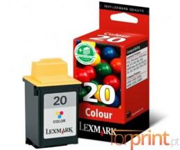 Tinteiro Original Lexmark 20HC Cor 24.2ml ~ 450 Paginas