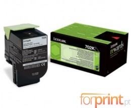 Toner Original Lexmark 702K Preto ~ 1.000 Paginas