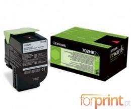 Toner Original Lexmark 702HK Preto ~ 4.000 Paginas