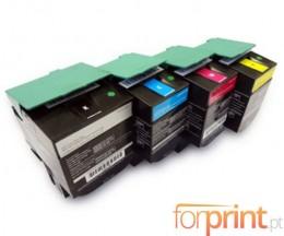 4 Toners Compativeis, Lexmark C540H1 ~ 2.500 / 2.000 Paginas
