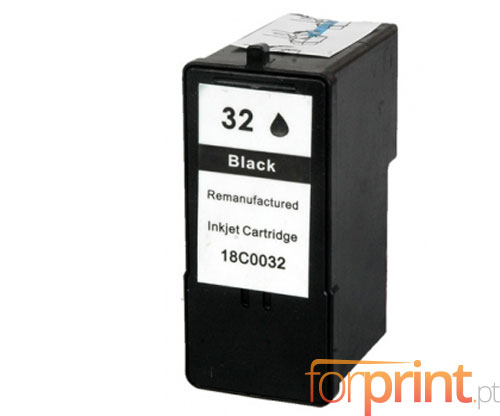Tinteiro Compativel Lexmark 32 Preto 21ml