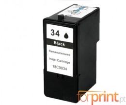 Tinteiro Compativel Lexmark 34 Preto 21ml