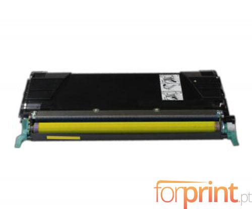 Toner Compativel Lexmark C734A1YG Amarelo ~ 6.000 Paginas