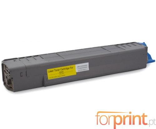 Toner Compativel OKI 44059105 Amarelo ~ 8.000 Paginas