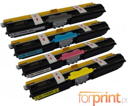 4 Toners Compativeis, OKI 4425072X ~ 2.500 Paginas