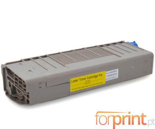 Toner Compativel OKI 44318605 Amarelo ~ 11.500 Paginas