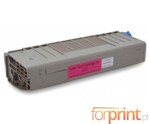 Toner Compativel OKI 44318606 Magenta ~ 11.500 Paginas