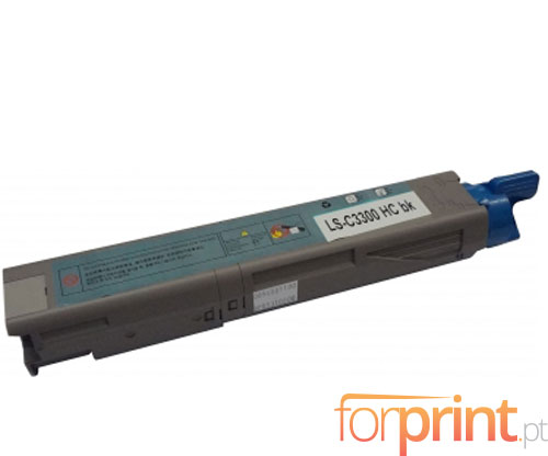 Toner Compativel OKI 43459436 / 43459332 Preto ~ 2.500 Paginas
