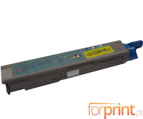 Toner Compativel OKI 43459433 / 43459329 Amarelo ~ 2.500 Paginas