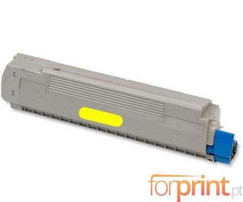 Toner Compativel OKI 43487709 Amarelo ~ 6.000 Paginas
