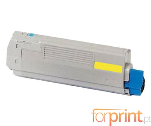 Toner Compativel OKI 44059209 Amarelo ~ 10.000 Paginas