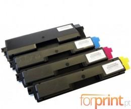 4 Toners Compativeis, Olivetti P2021 Preto + Cor ~ 3.500 / 2.800 Paginas