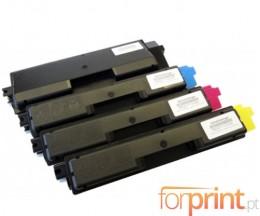 4 Toners Compativeis, Olivetti P2026 Preto + Cor ~ 7.000 / 5.000 Paginas