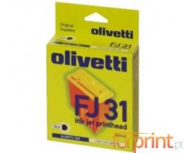 Tinteiro Original Olivetti FJ-31 Preto 18ml ~ 450 Paginas