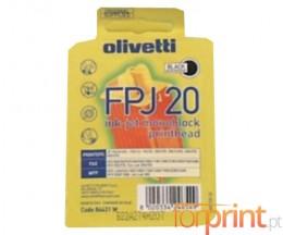 Tinteiro Original Olivetti FPJ-20 Preto 24ml ~ 360 Paginas