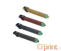 4 Toners Compativeis, Ricoh MPC305E Preto + Cor ~ 12.000 / 4.000 Paginas
