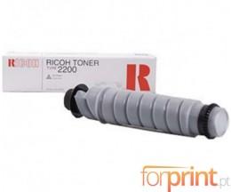 Toner Original Ricoh Type 2200 Preto ~ 3.000 Paginas