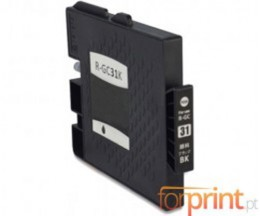 Tinteiro Compativel Ricoh GC-31 / GC-31 XXL Preto 78ml