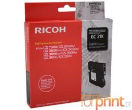 Tinteiro Original Ricoh GC-21 K Preto ~ 1.500 Paginas