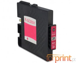 Tinteiro Compativel Ricoh GC-31 / GC-31 XXL Magenta 64ml